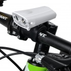 2*3W 100lm 3-Mode White Light LED Bike Bicycle Front Lamp - White