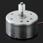 DIY Accessories Motor + Gear Reduction Gearbox Set for R/C Toy - Transparent + Silver + Multi-Color