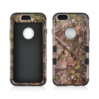 Angibabe 3-in-1 Forest Tree Pattern Heavy Duty Hybrid Silicone Cover Case for IPHONE 6 - Multiclored