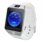 "DZ09 1.56"" TFT LCD Screen GSM Smart Watch Phone w/ Bluetooth / Quad-band / FM - White"