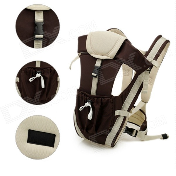 Multifunctional Baby Sling - Coffee