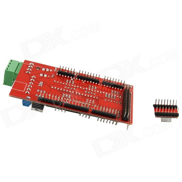 D ramp extend shield board a stepper drivers