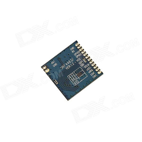868MHz High Performance SI4463 RF Wireless Module with Shielding Cover for Arduino