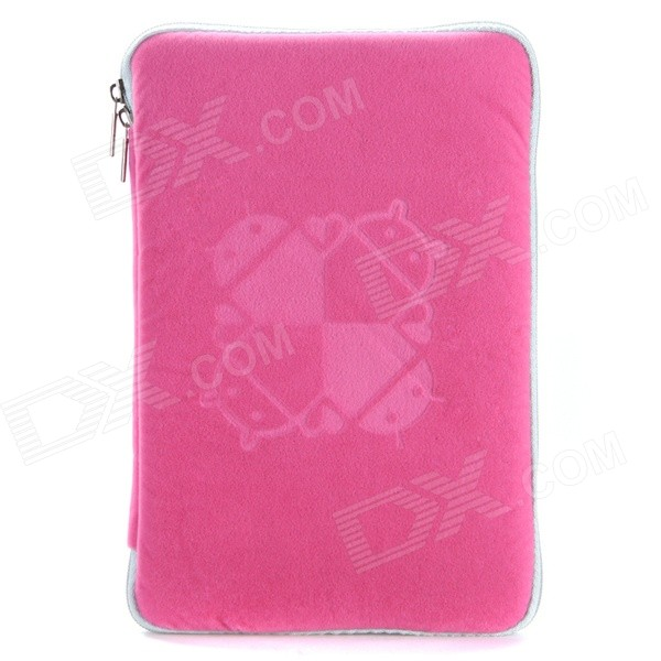 Universal Protective Sleeve Pouch Bag Case Cover for 9.7 Tablet PC - Pink case for ipad pro 10 5 ultra retro pu leather tablet sleeve pouch bag cover for ipad 10 5 inch a1701 a1709 funda tablet case