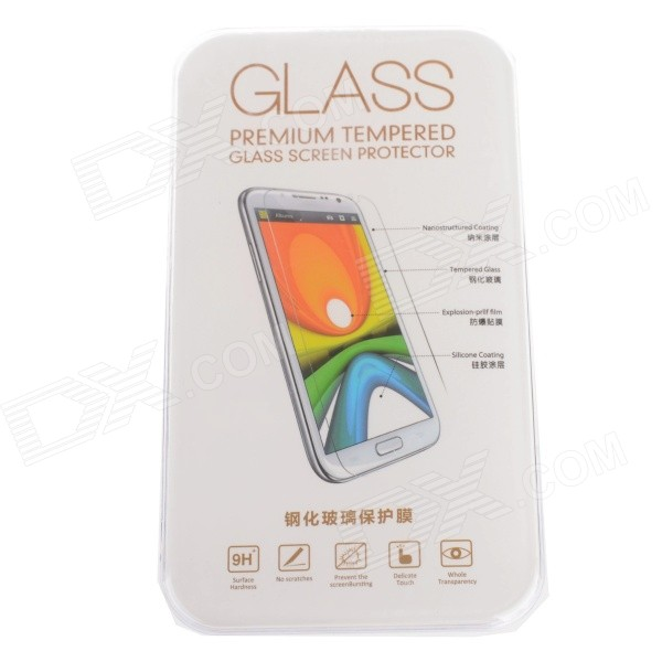 Explosion-proof Tempered Glass Screen Protector for LG L70 - Transparent original tempered glass screen protector for landvo s6 smartphone transparent