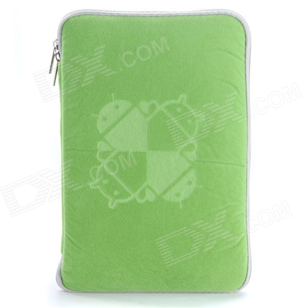 Universal Protective Sleeve Pouch Bag Case for 8 Tablet PC - Green