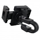 360 ° Rotatable Motorcycle Montada Bracket Suporte para GPS / IPHONE 6 / Samsung Galaxy S5 - Black