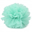 "DIY Fashionable Decorative 10"" Paper Peony Flower Pendant for Wedding / Party - Grass Green"