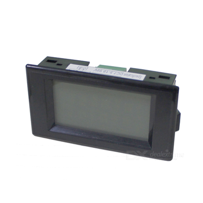 2.2 LCD Digital Panel Voltmeter with Blue Backlight (7.2~20V) three phase lcd digital panel ammeter voltmeter ampermeter combination table
