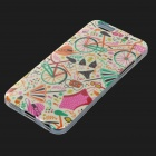 Stylish Bikini Pattern Protective TPU Back Case Cover for IPHONE 6 - Multicolored