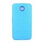 Protective TPU Back Case for Google Nexus 6 - Light Blue