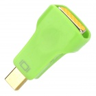 Mini DisplayPort Male to VGA Female Converter Adapter - Green + Orange