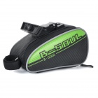YA151 Personalized Cycling Bike Bicycle Saddle Seat Tail Bag - Black + Green