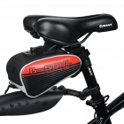 YA151 Personalized Cycling Bike Bicycle Saddle Seat Tail Bag - Black + Red
