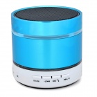 Bluetooth V2.1 Bass Speaker w/ Microphone / Mini USB / FM / TF / 3.5mm - Blue + White