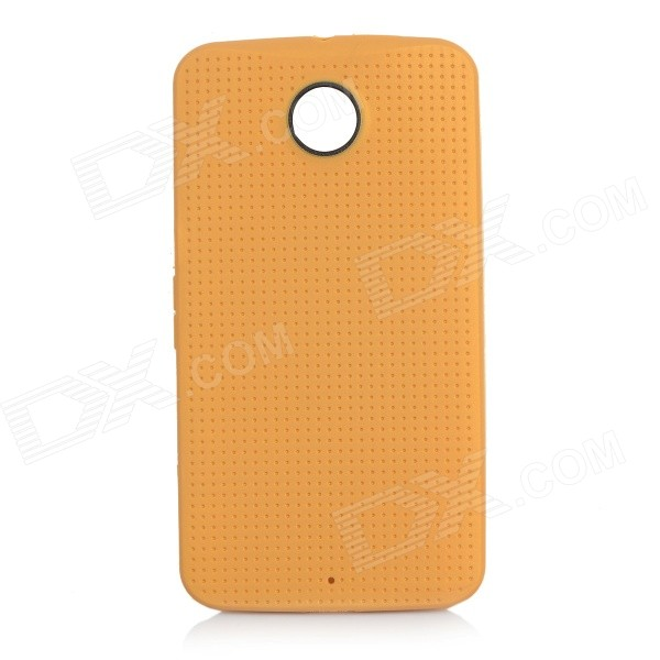 Protective TPU Back Case for Google Nexus 6 - Gold