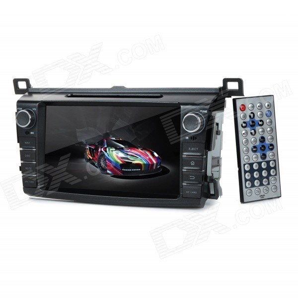KD-8017 8 Android Dual-Core 3G Car DVD Player w/ 1GB RAM / 8GB Flash / GPS / Wi-Fi for Toyota RAV4 планшет prestigio multipad grace 3118 pmt31183gccis black mediatek mt8321 1 2 ghz 1024mb 8gb wi fi bluetooth cam 8 0 1280x800 android