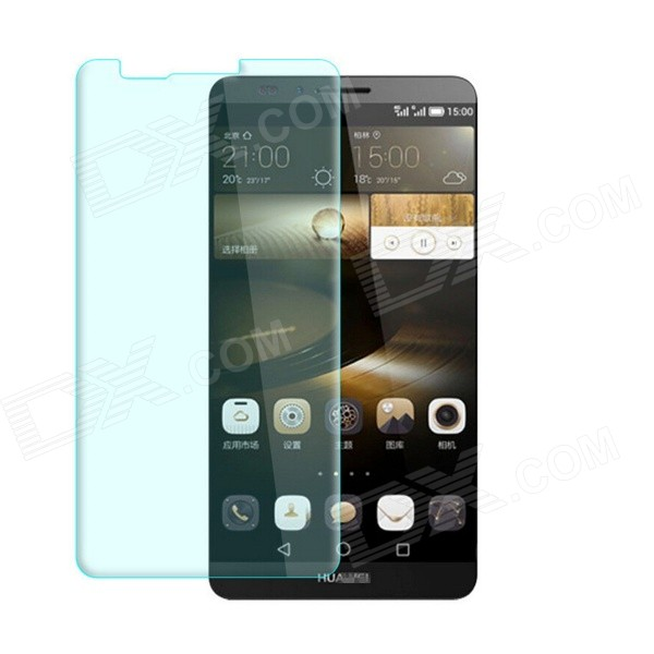 Tempered Glass Screen Protector for Huawei Mate 7 - Transparent original tempered glass screen protector for landvo s6 smartphone transparent