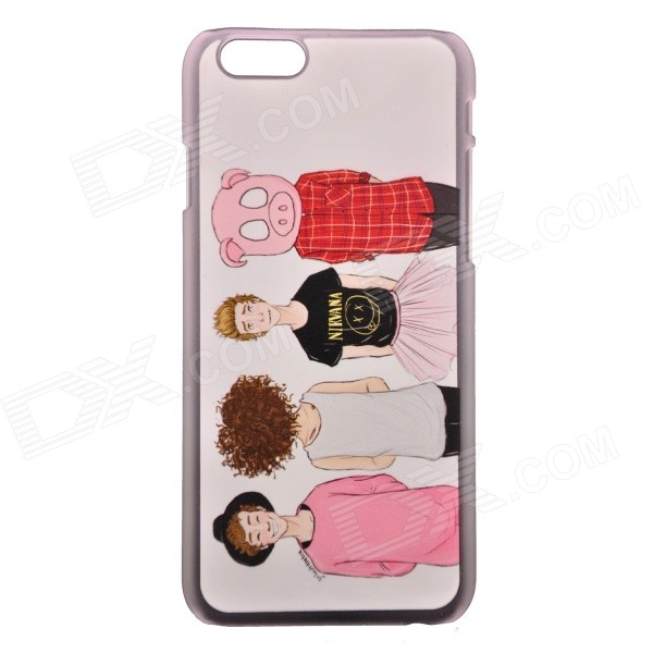 "My Dear Friends Pattern Protective PC Back Case for IPHONE 6 4.7"" / 6S - Multicolored"
