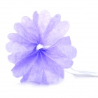 "DIY Fashionable Decorative 4"" Paper Peony Flower Pendant for Wedding / Party - Purple"