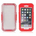 "EPGATE 6 Meters Underwater Protective Waterproof Case for IPHONE 6 Plus 5.5""  - Red + Transparent"