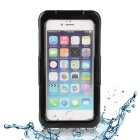 "EPGATE 6 Meters Underwater Protective Waterproof Case for IPHONE 6 4.7""  - Black + Transparent"