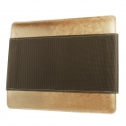 Mallper MP-BC05 Brief Canvas Case Carrying Bag for IPAD - Coffee + Champagne