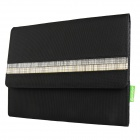 Mallper MP-BC04 Brief Canvas Case Carrying Bag for IPAD - Black + Gray