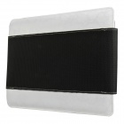 Mallper MP-BC07 Brief Canvas Case Carrying Bag for IPAD - Black + White