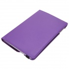 360 Degrees Rotating Flip-open PU Leather Case w/ Stand / Auto Sleep for IPAD MINI 3 - Purple