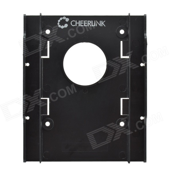 "CHEERLINK 3.5 ""Titular suporte Dual HDD - preto"