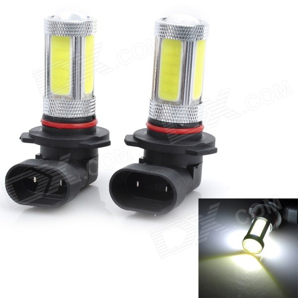 Marsing 9005 25W 1800lm 6500K 5-COB LED Cool White Light Car Head/ Foglight (12~24V / 2 PCS) wf90053522 highlight 9005 3w 210lm 1 smd led white light car foglight dc 12v