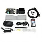 X300 Expansion Board w/ Remote Control Kit Set for Raspberry Pi B+ - Black