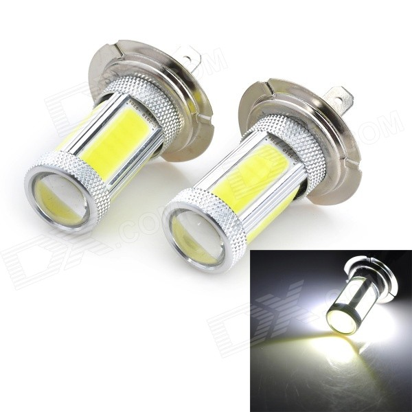 Marsing H7 25W1800lm 7000K 5-COB LED Frio Branco Light Car Farol / Foglight (12 ~ 24V / 2 PCS)