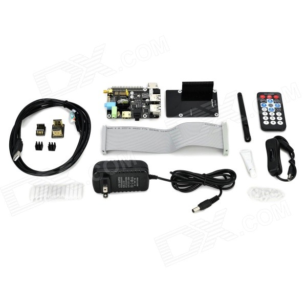 X200 Expansion Board w/ Remote Control Kit Set for Raspberry Pi B+ - Black geomorphic control on urban expansion