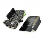 X200 Expansion Board w/ Remote Control Kit Set for Raspberry Pi B+ - Black