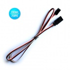 26AWG JR Male to JR Female 450mm Servo Extension Lead Wire Cables (30 PCS)