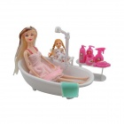 ZL30102 Electric Bathroom Toys w/ Spray Function - Red + Deep Pink + Multi-Color