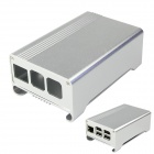 High Quality Aluminum Alloy Case Enclosure Box for Raspberry Pi 2 Model B & Raspberry Pi B+ - Silver