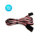 22AWG JR Male to JR Female 900mm Servo Extension Lead Wire Cables (30 PCS)