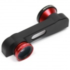 Buy PHO-FWM-6 3-in-1 Fish eye + Marco Wide angle Lens IPHONE 6 4.7 inch - Black Red