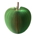 Unique Creative Apple Shaped Memo Pad - Large (About 120-Page)