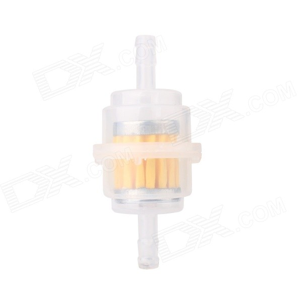 MZ Style D Universal 1/4 6.35mm Gasoline Filter - Yellow + Translucent - DXOthers<br>Model Style D Quantity 1 Piece Material Plastic Color Transparent + Yellow Shade Of Color Transparent Compatible Type Universal Compatible Make Universal Compatible Brand &amp; Year Universal Packing List 1 x Gasoline filter<br>