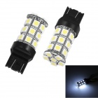 Merdia T20 5W 40ml 6000K 27-5050 SMD LED White Car Steering / Brake / Backup Lights (Pair  /12V)