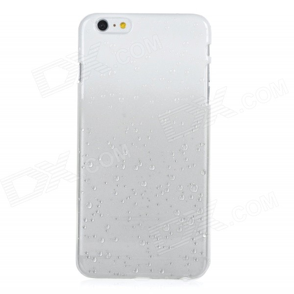 Raindrop Pattern Protective Plastic Back Case Cover for IPHONE 6 PLUS - White + Transparent кеды keds kdwf54583r00t