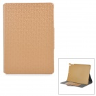Protective PU Flip Open Case w / Card Slots / Stand / Auto-Sleep für IPAD AIR - Golden