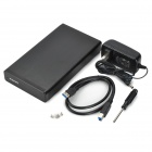 MAIWO K3505CU3S Aluminum Alloy USB 3.0 3.5'' SATA HDD Enclosure - Black