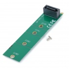 M.2 NGFF to SATA Adapter Card - Green