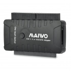 MAIWO K132U3IS USB 3.0 to SATA Hard Disk Adapter - Black