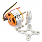 A2212 6T 2200KV Brushless Motor Set for R/C Toy - Golden + Silver